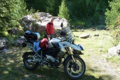 In den französischen Alpen