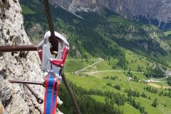 Im Pisciadu Klettersteig